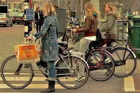 3chicas en bici