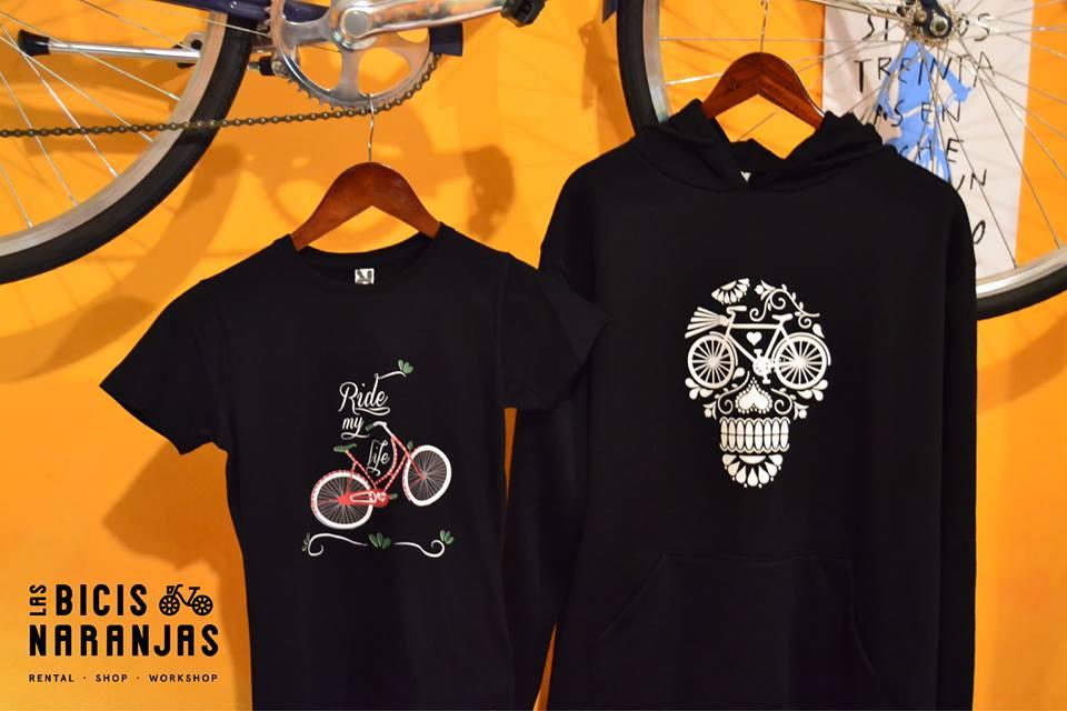 coleccion lbn camisetas bicis sudaderas