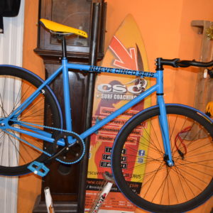 Fixie dark blue