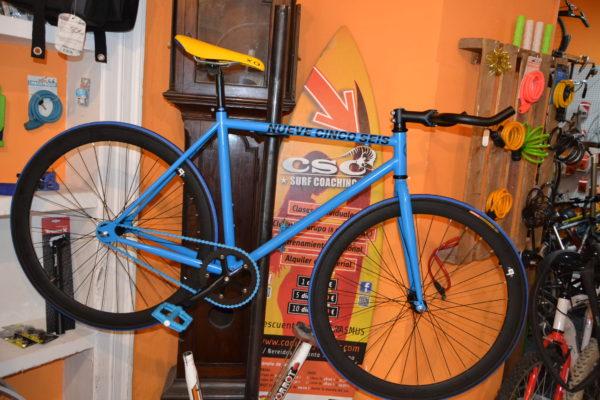 Fixie 956 dark blue las bicis naranjas cadiz online