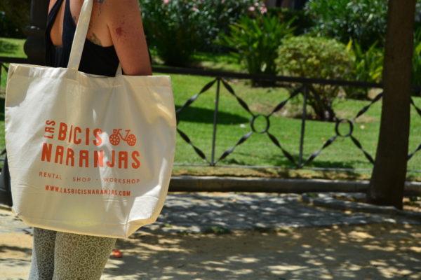 bolsa de tela-bicis-naranjas-cadiz-bicicleta-algodon-coleccion-verano