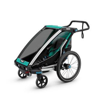 carrito thule chariot light azul
