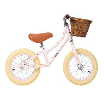 BICICLETA BANWOOD SIN PEDALES FIRST GO ROSA